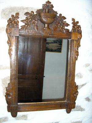 Miroir lxvi tilleul 65 cm x
